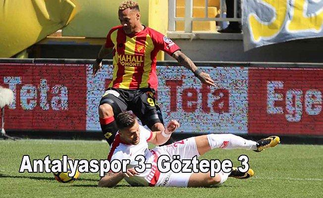 Antalyaspor fırsatı kaçırdı