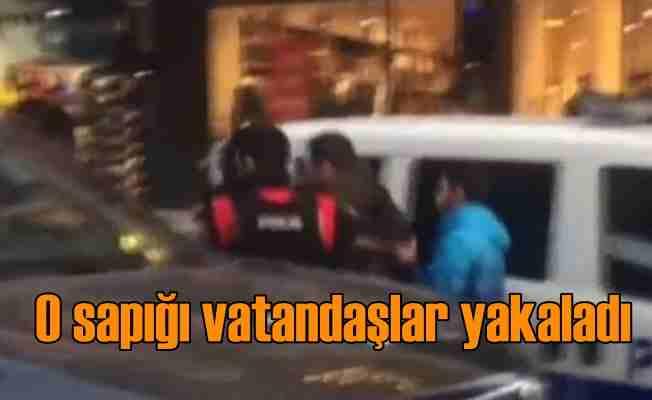 Diyarbakır'da sapık alarmı; Vatandaşlar yakaladı, polise teslim etti