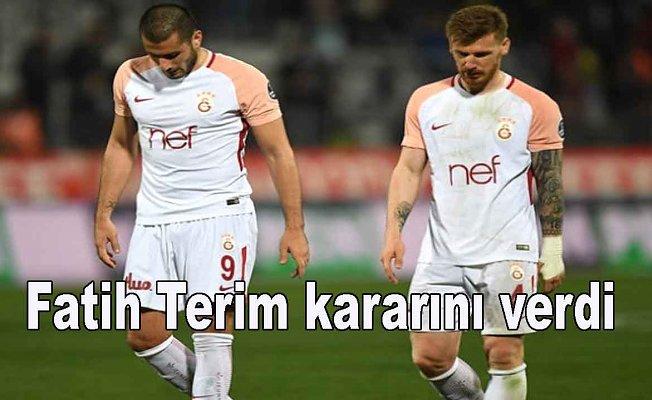 Fatih Terim iki futbolcu için kararını verdi