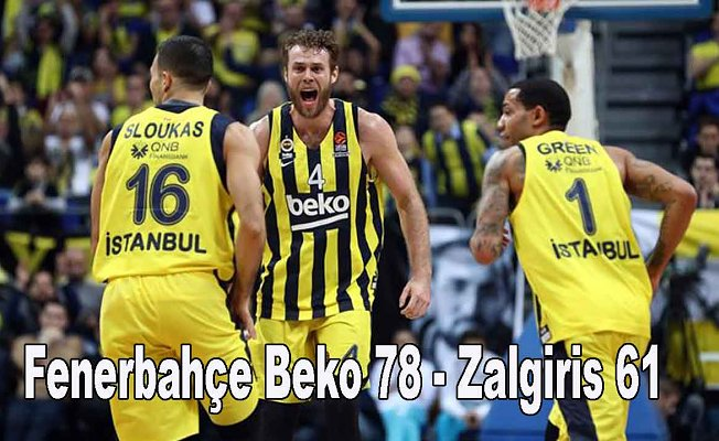 Fenerbahçe Beko rahat kazandı