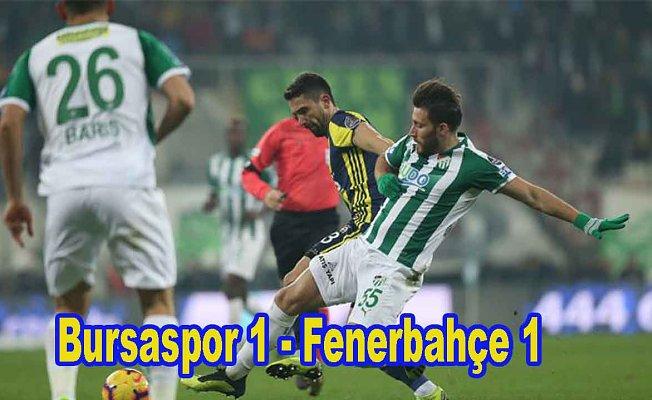 Fenerbahçe son dakikada galibiyeti kaçırdı
