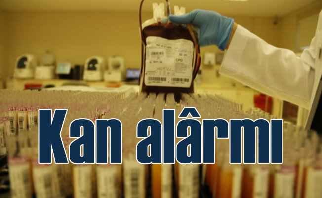 Kan bağışı azaldı, stoklar alarm veriyor