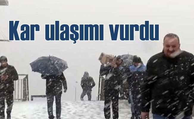 Kar İstanbul'a ulaştı; Soğuklar daha da artacak
