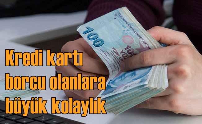 Kredi kartı borcu olanlara Ziraat Bankası desteği