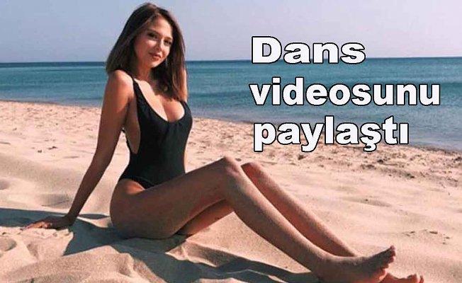 Merva Taşkın bornozlu videosunu paylaştı