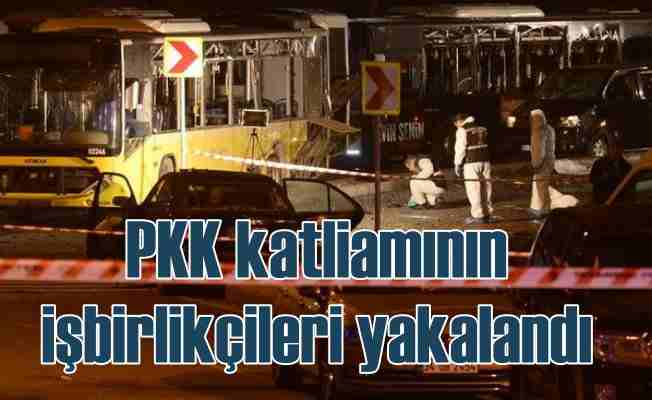 PKK'nın İstanbul'daki katliamlarına yardım etmişler