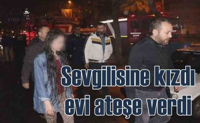 Sevgilisi şiddet uygulayan genç kadın isyan etti