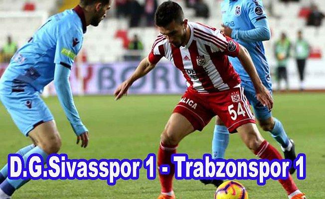 Sivasspor ve Trabzonspor puanları paylaştı