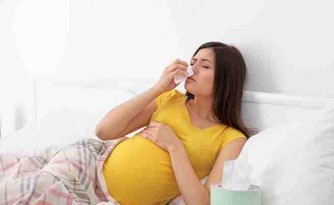 Anne adayları aman dikkat; Gebelikte grip, zatürreye dönüşmesin