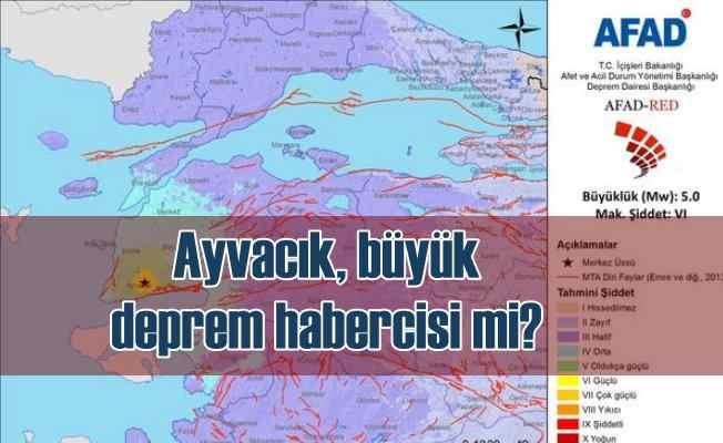 Ayvacak depremi yeni depremleri tetikler mi?