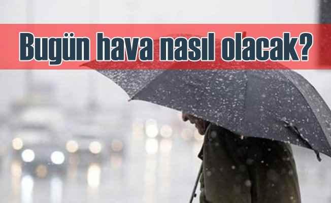 Bugün hava nasıl olacak; Yağmur için uyarı geldi