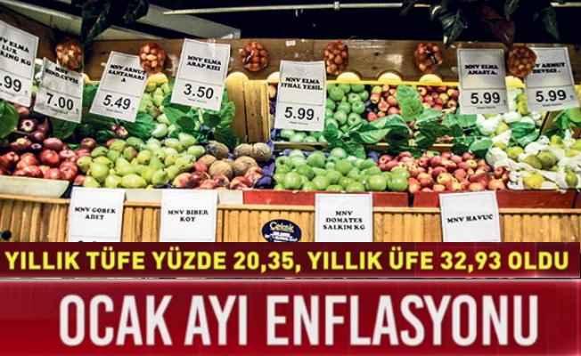Enflasyon rakamları çıldırdı, Taze meyve sebzeler tavan yaptı