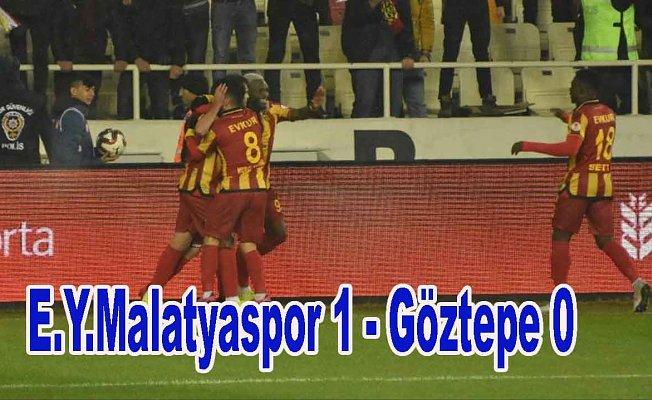 Evkur Yeni Malatyaspor avantajı kaptı