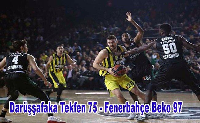 Fenerbahçe Beko Avrupa yolunda yoluna kayıpsız devam etti