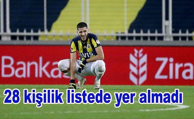 Fenerbahçe'de şok...listedışı kaldı
