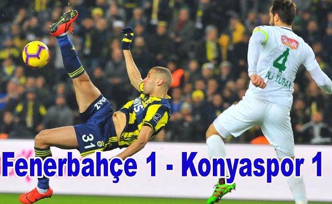 Fenerbahçe puan kaybetmeye devam ediyor