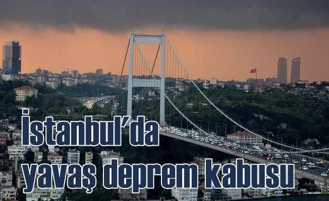 İstanbul'da yavaş deprem 3 yıl sonra ortaya çıkarıldı