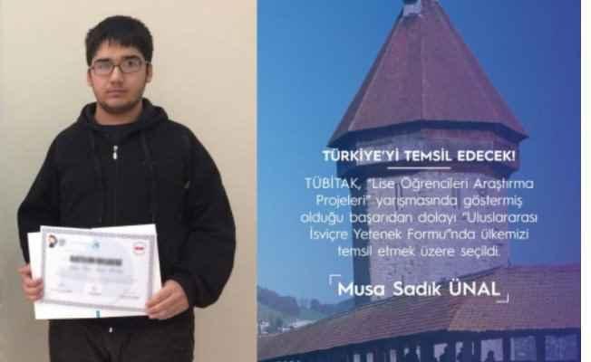 Kartal Anadolu İmam Hatip Lisesi öğrencisi'ne İsviçre'den davet