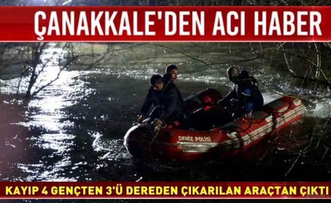 Sel sularına kapılan 3 gencin cansız bedeni bulundu