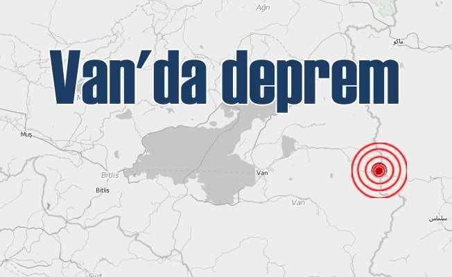 Son dakika Van'da deprem, Saray 4.2 ile sallandı