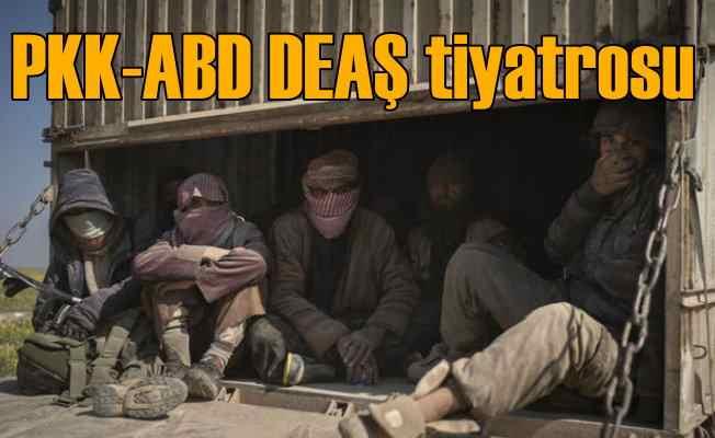 Terör koalisyonundan Suriye'de DEAŞ tiyatrosu