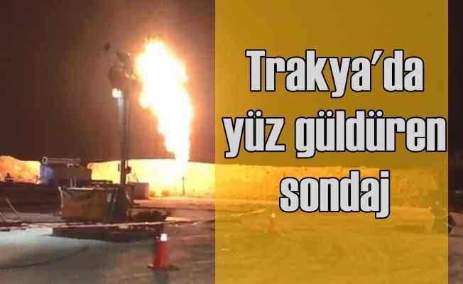 Trakya'da doğalgazı 300 bin evi ısıtacak