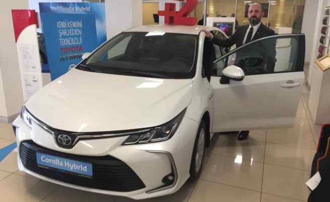 Yeni Corolla 95 bin 700 TL'den Toyota Plaza Kar'da