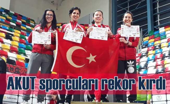 AKUT Sporcularından Bir Balkan Rekoru Daha