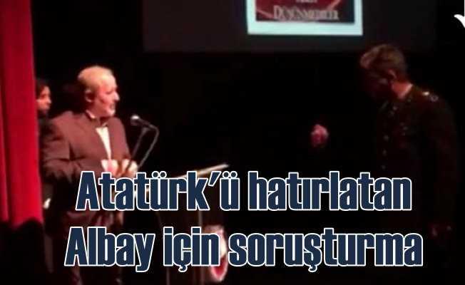 Atatürk'süz anmaya tepki gösterdi, soruşturma açıldı