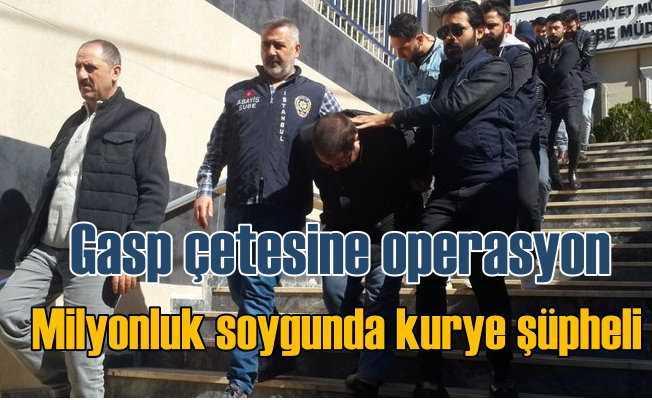 Beyoğlu'nda kurye soygunu: Yaralı kurye soygun ekibinden çıktı