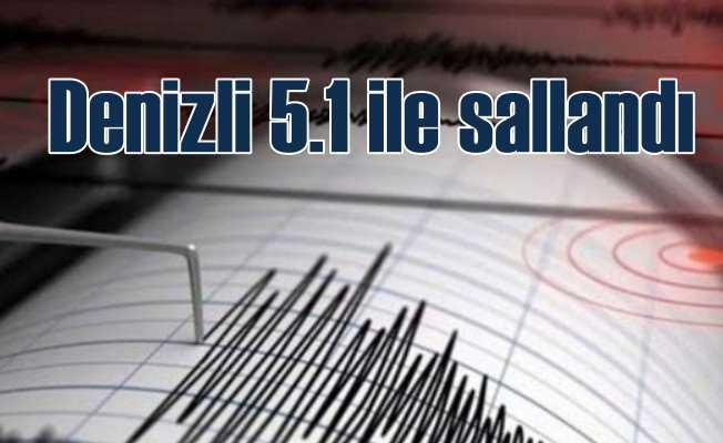 Denizli Acıpayam'da deprem oldu, bu kez 5 ile sallandı