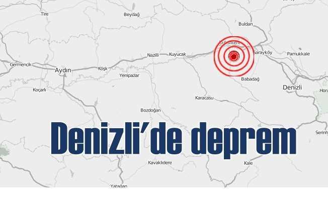 Denizli'de deprem; Denizli Sarayköy sallandı