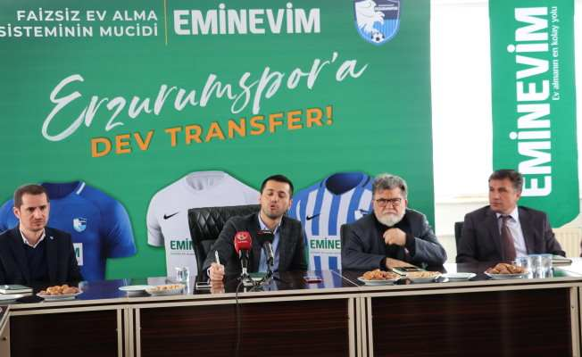 Erzurumspor ile Eminevim arasında büyük işbirliği