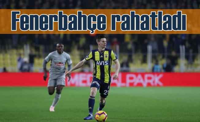 Fenerbahçe: 3 - Çaykur Rizespor: 2