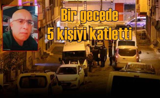İkisi öz oğlu 5 kişiyi öldüren katil yakalandı