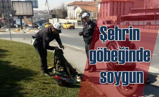 İstanbul'un göbeğinde 300 bin dolarlık soygun