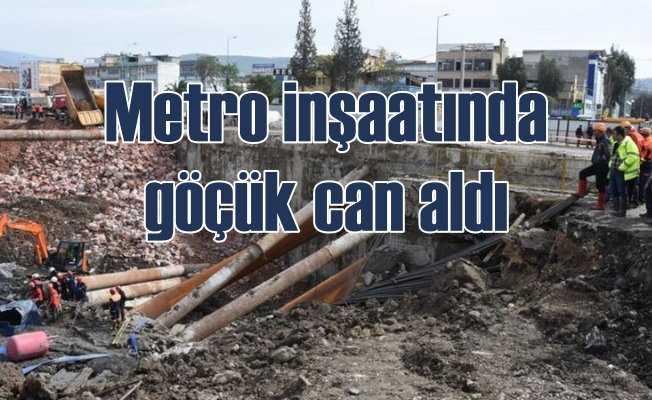 İzmir'de göçük: Bir işçinin cesedine ulaşıldı