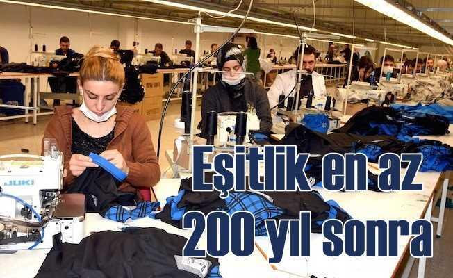 Kadın erkek eşitsizliği 200 yıl sonra bitebilir!