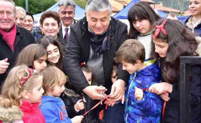 Kamil İlhan Parkı açıldı