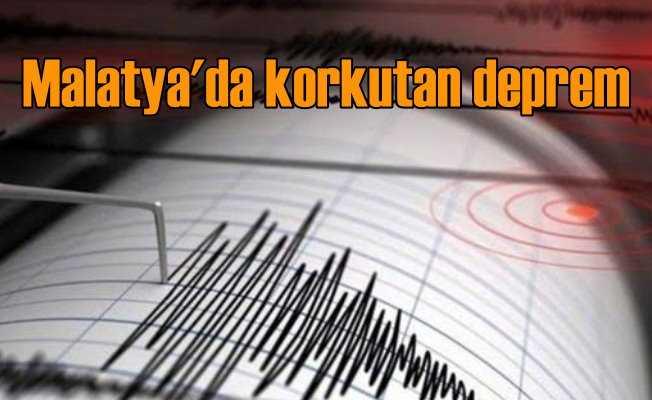 Malatya'da deprem; Hekimhan 4.1 sallandı