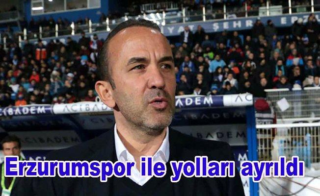 Mehmet Özdilek Erzurumspor'dan ayrıldı