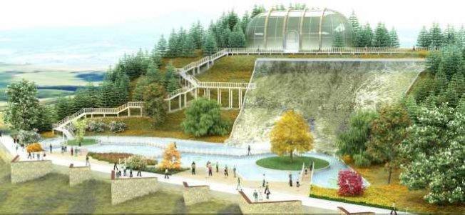 Seydişehir botanik parkla buluşuyor