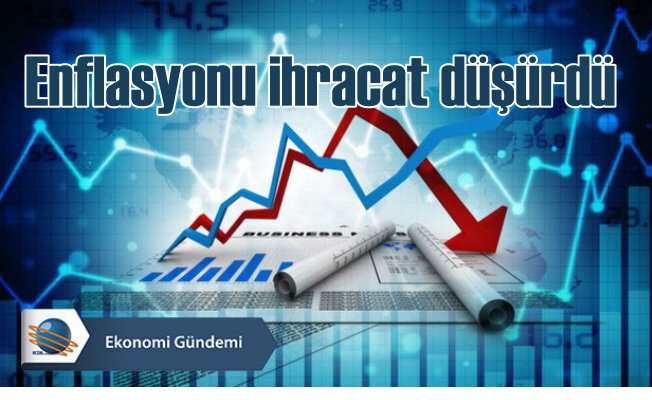 Şubat ayında ihracat arttı enflasyon düştü