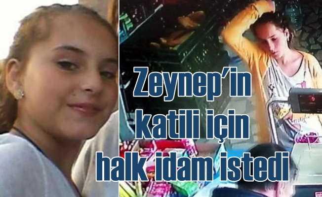 Zeynep Esin'in katili için vatandaş 'İdam' sloganları attı