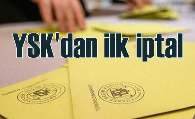 YSK'dan ilk iptal kararı | Artvin Yusufeli'nde seçimler iptal edildi