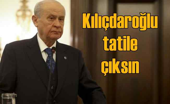Bahçeli: Kılıçdaroğlu'na yapılan saldırıdan memnuniyet duymadık