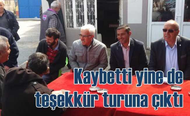 CHP Seydişehir adayı Katlav | Kaybetti yine de teşekkür turuna çıktı