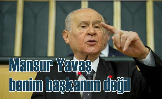 Devlet Bahçeli   İstanbul'da yeniden seçim düşünülebilir
