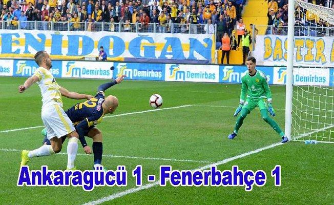 Fenerbahçe düşme hattından uzaklaşamadı