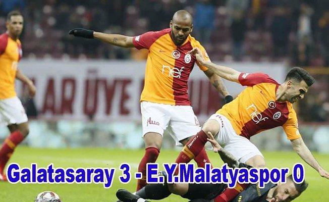 Galatasaray, Malatyaspor'a acımadı